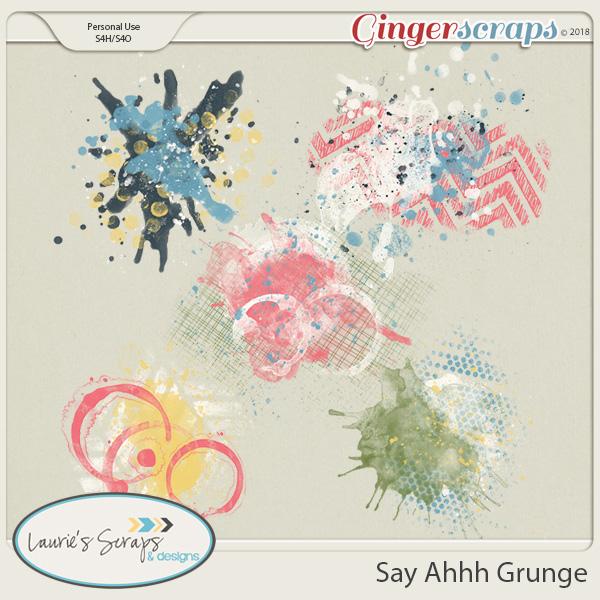 Say Ahhh Grunge