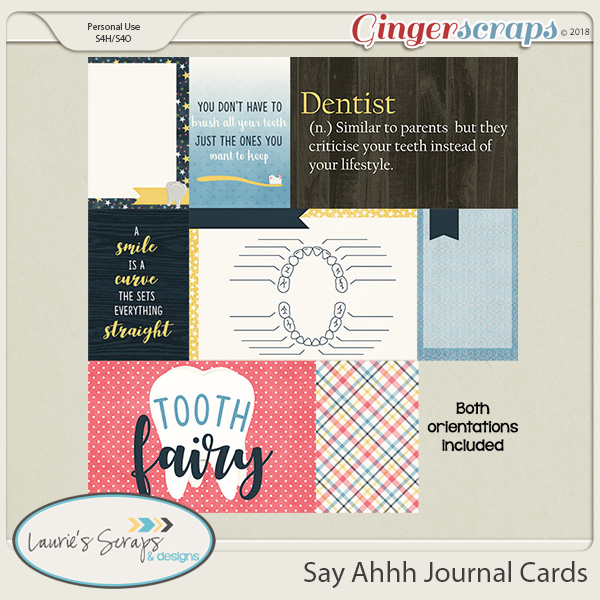 Say Ahhh JournalCards