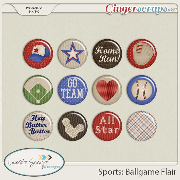 Sports: Ballgame Flairs