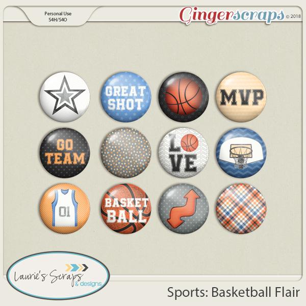 Sports: Basketball Flairs