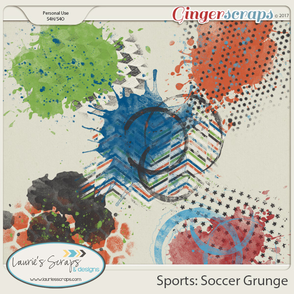 Sports: Soccer Grunge