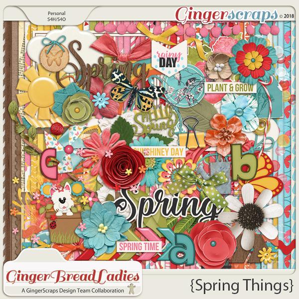 GingerBread Ladies Collab: Spring Things