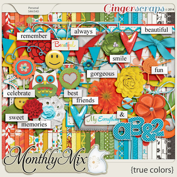 Monthly Mix: True Colors