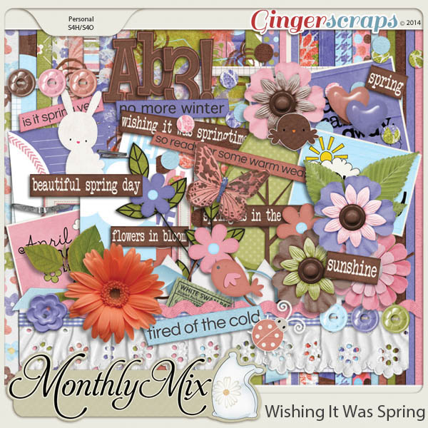 Monthly Mix: Wishing It Was Spring