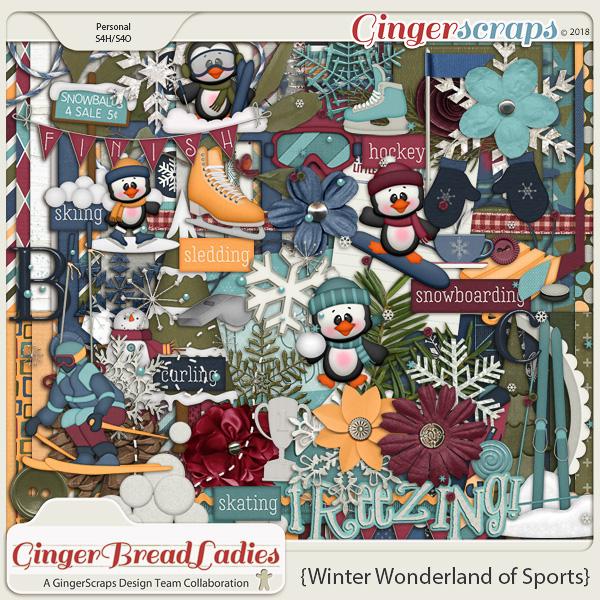GingerBread Ladies Collab: Winter Wonderland of Sports