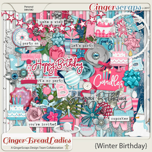 GingerBread Ladies Collab: Winter Birthday