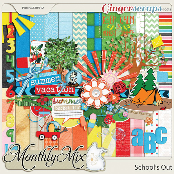 Monthly Mix: Schools Out