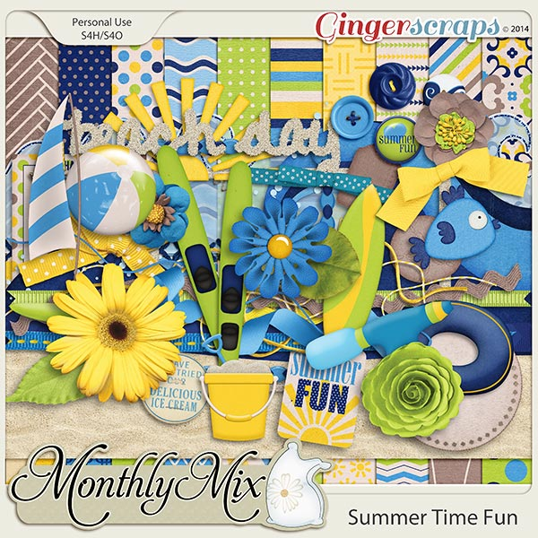 Monthly Mix: Summer Time Fun