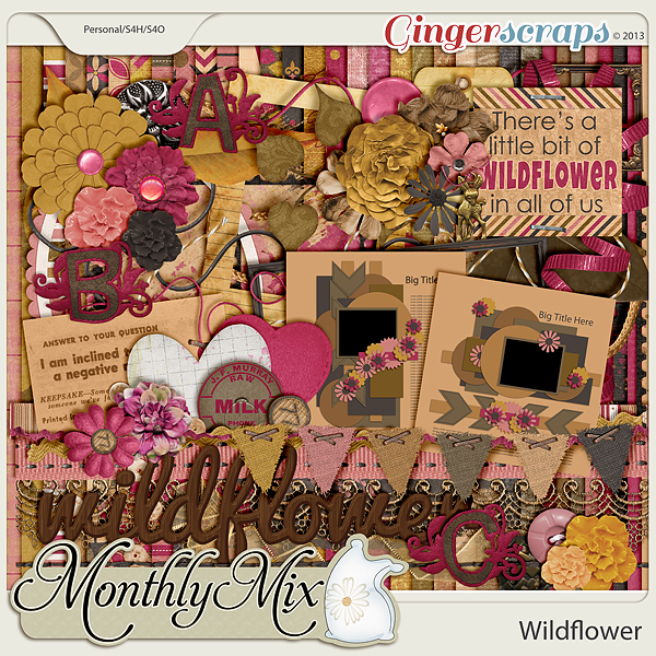 Monthly Mix: Wildflower