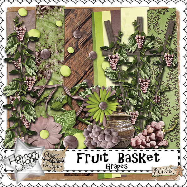 Fruit Basket - Grapes