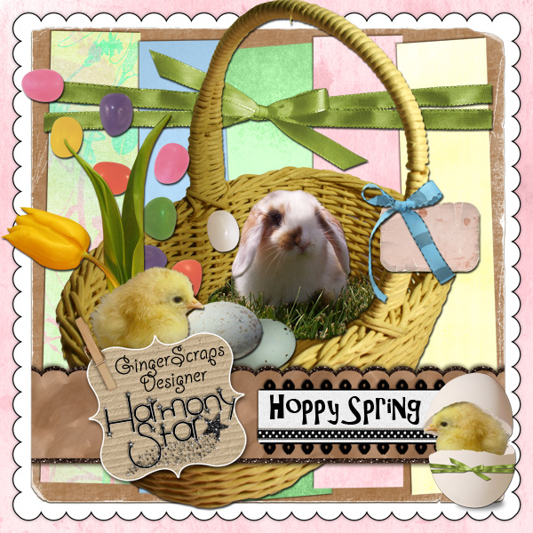 Scrap Your Life: Project-365~ Hoppy Spring