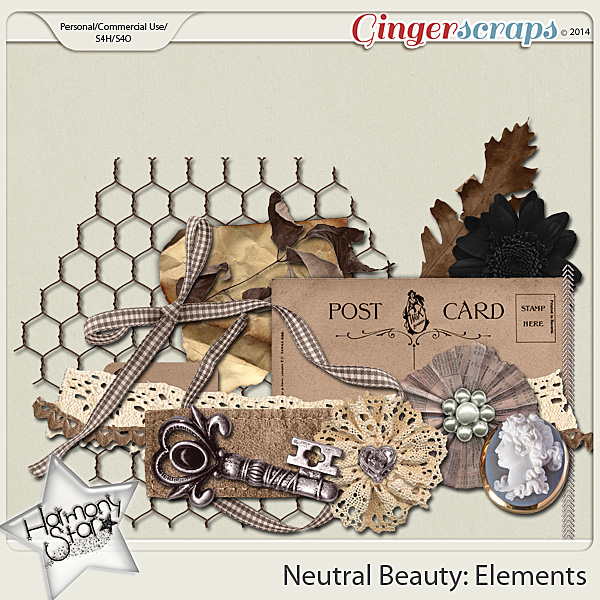 Neutral Beauty Elements