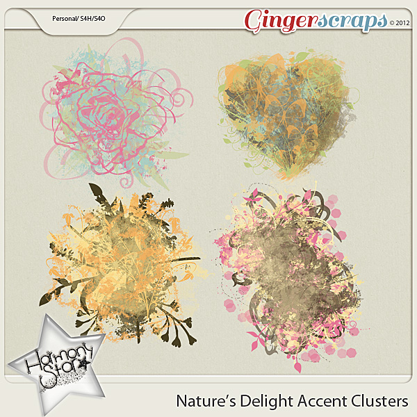 Nature's Delight Accent Clusters by Harmonystar