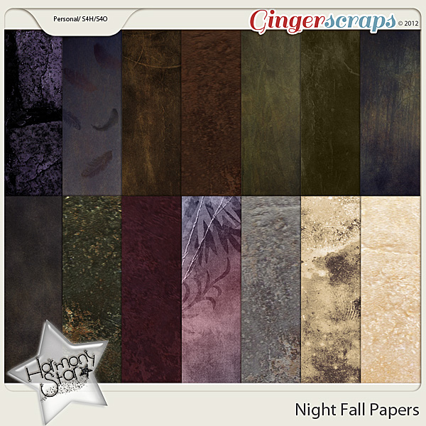 Night Fall papers by Harmonystar