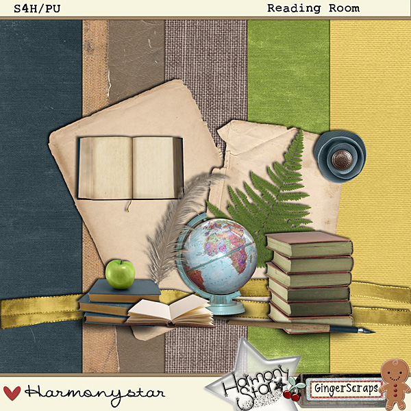 The Reading Room: by Harmonystar