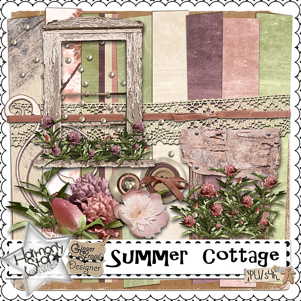 Summer Cottage By Harmonystar