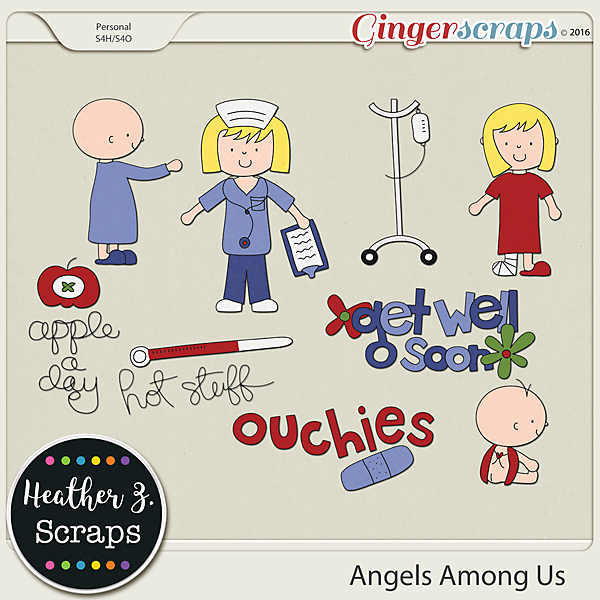 Angels Among Us {Doodles}