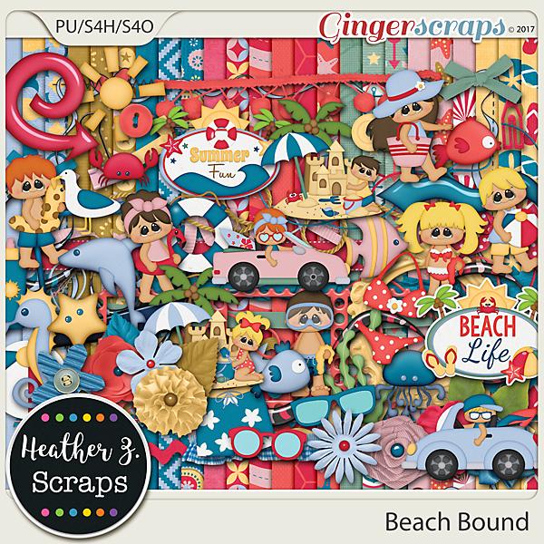 Beach Bound KIT by Heather Z Scraps