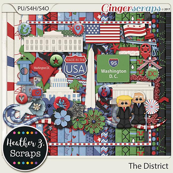 The District KIT by Heather Z Scraps