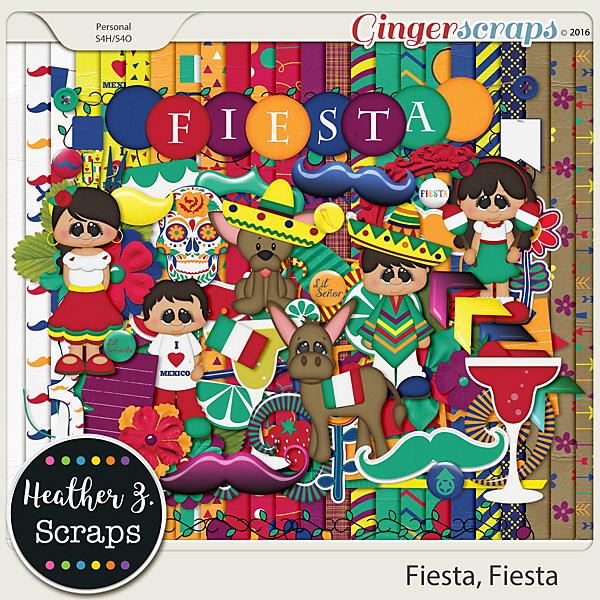 Fiesta, Fiesta KIT by Heather Z Scraps