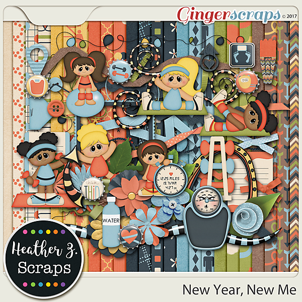 New Year, New Me KIT by Heather Z Scraps