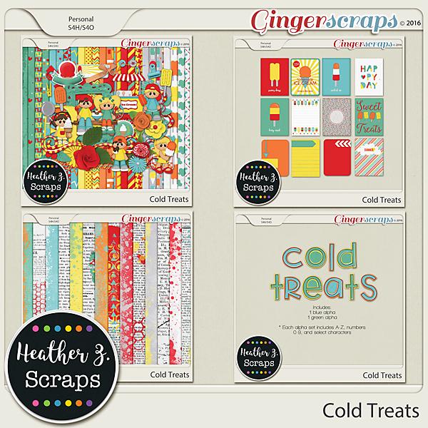Cold Treats BUNDLE by Heather Z Scraps