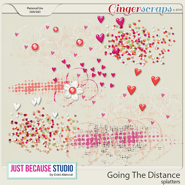 Going The Distance Splatters by JB Studio