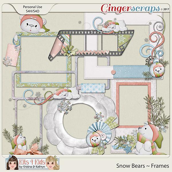 Snow Bears Frames by K4K