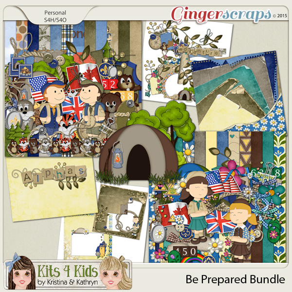 Be Prepared Bundle by K4K