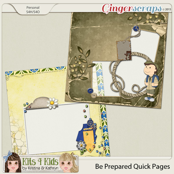 Be Prepared QuickPages by K4K