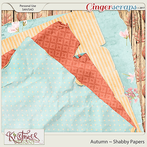 Autumn Shabby Papers