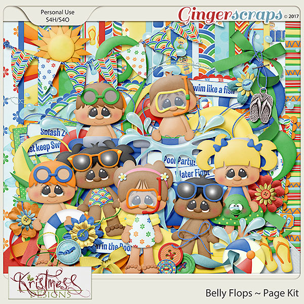 Belly Flops Page Kit