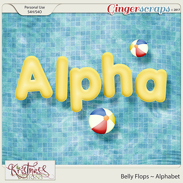 Belly Flops Alphabet