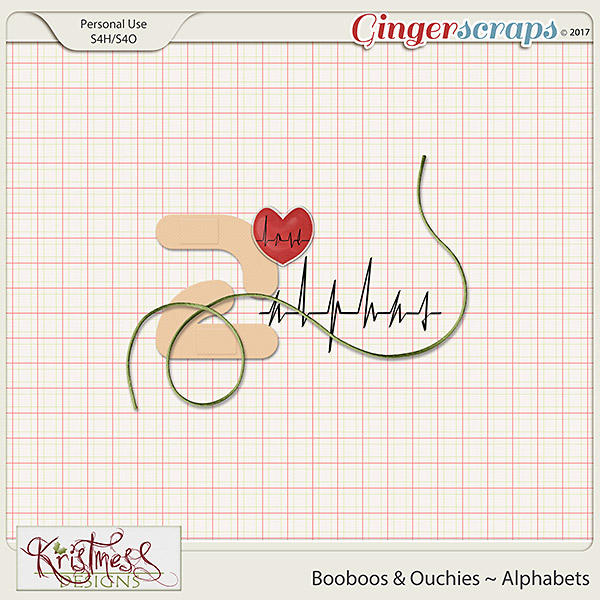 Booboos & Ouchies Alphabets