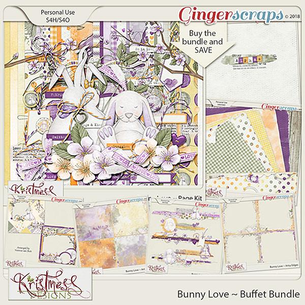 Bunny Love Buffet Bundle