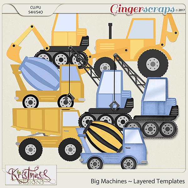 CU Big Machines Layered Templates