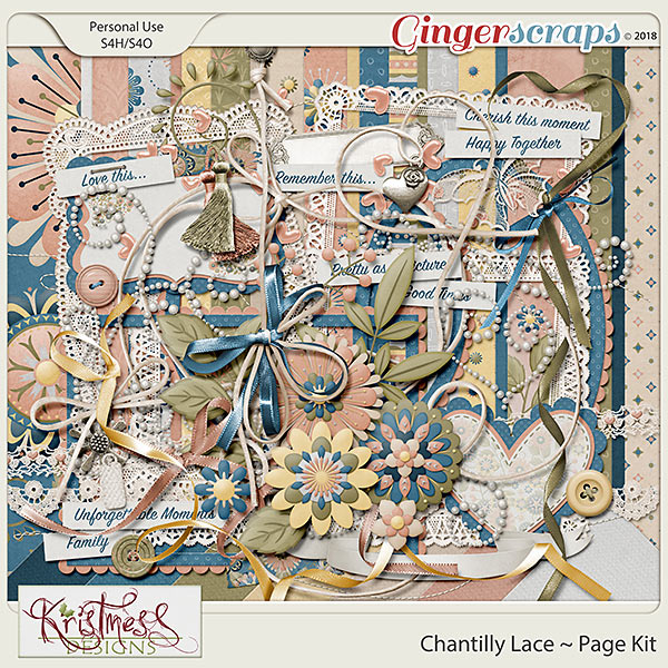 Chantilly Lace Page Kit