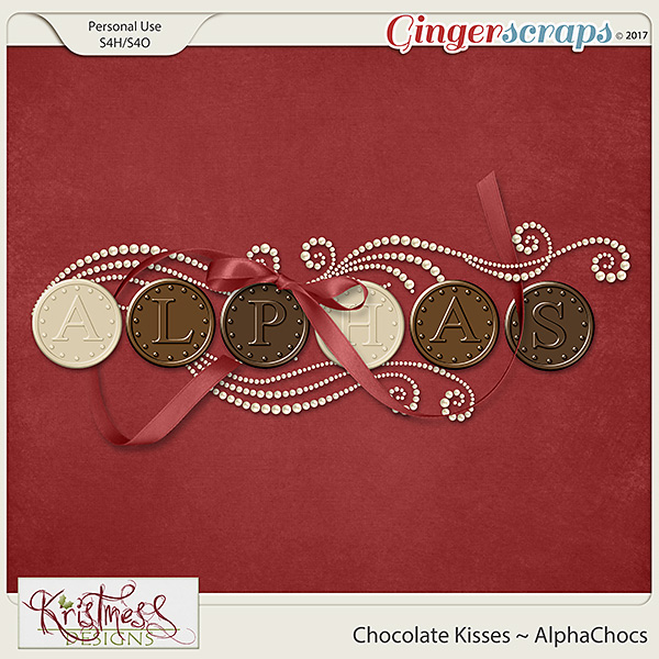Chocolate Kisses Alphachocs