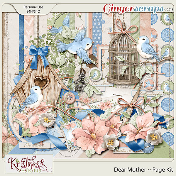 Dear Mother Page Kit