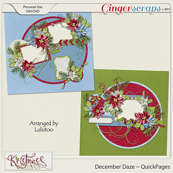 December Daze QuickPages