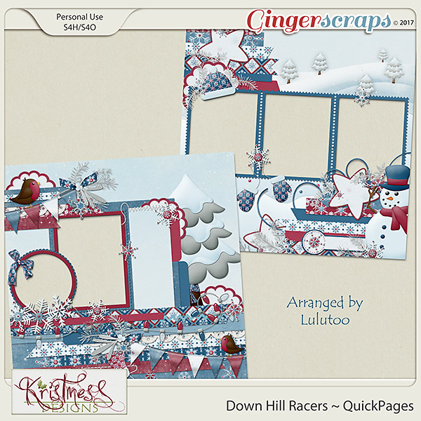 Down Hill Racers QuickPages