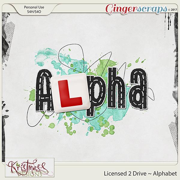 Licensed 2 Drive Alphabet