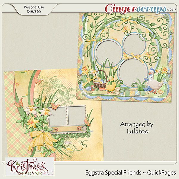Eggstra Special Friends QuickPages
