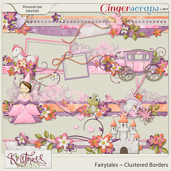 Fairytales Clustered Borders