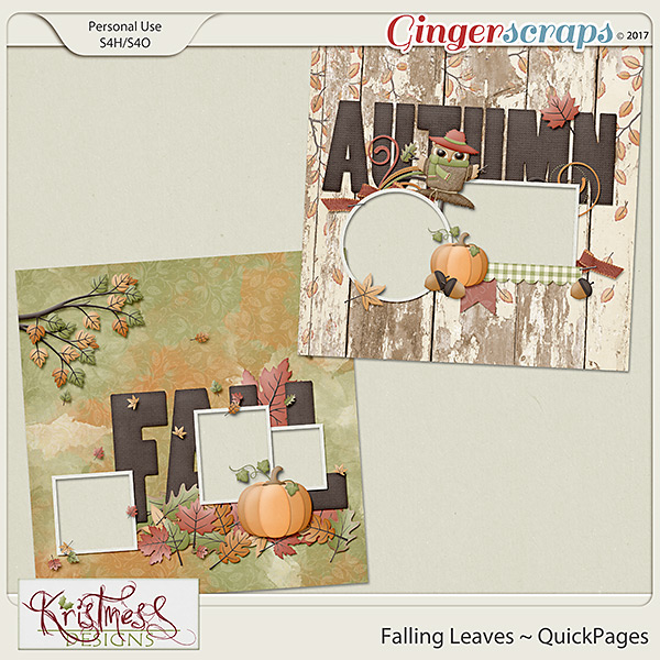 Falling Leaves QuickPages
