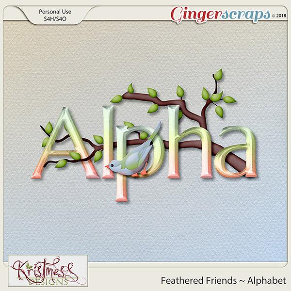 Feathered Friends Alphabet