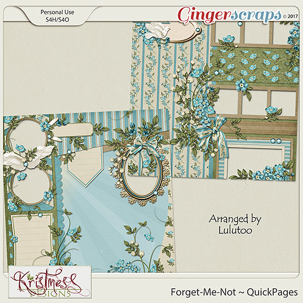 Forget-Me-Not QuickPages