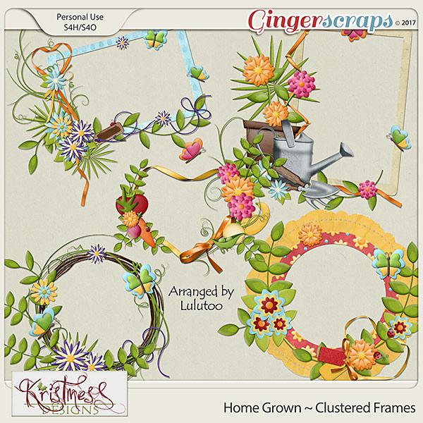 Home Grown Clustered Frames