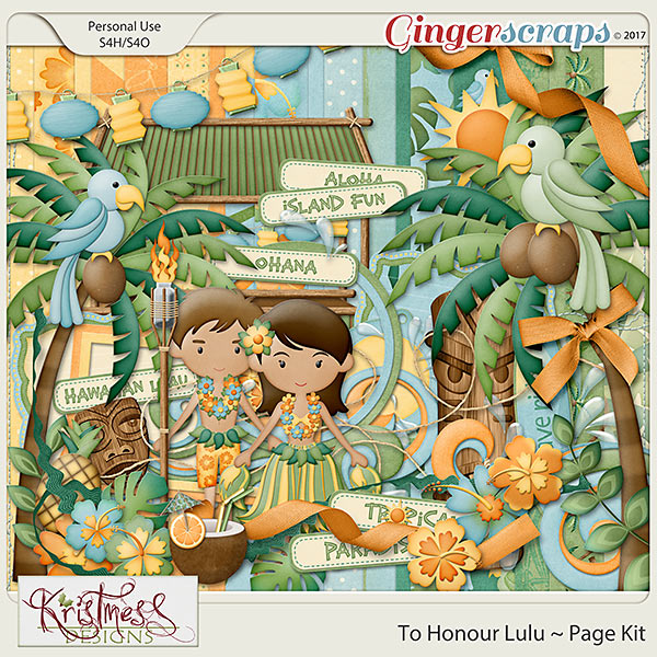 To Honour Lulu Page Kit
