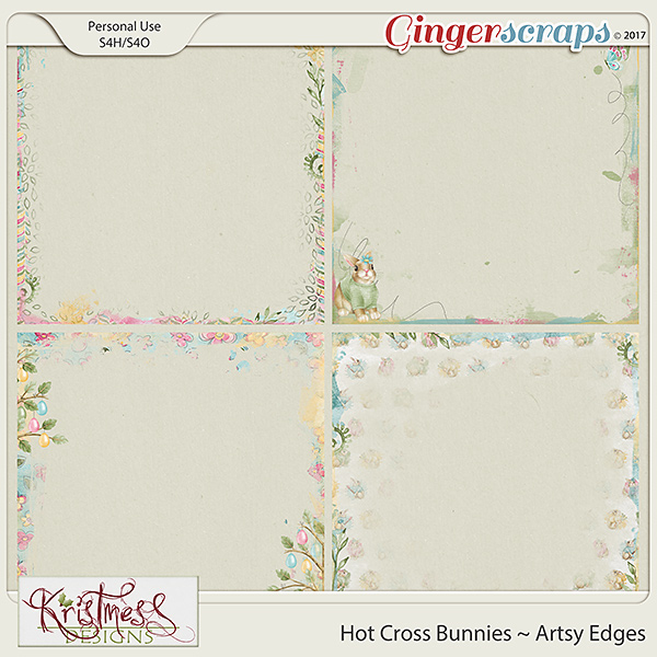 Hot Cross Bunnies Artsy Edges